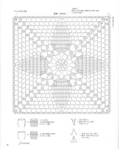 коврик на стул крючком схема и описание
